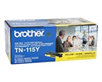BRTTN115Y - Brother TN115Y High Yield Yellow Toner Cartridge by Brother