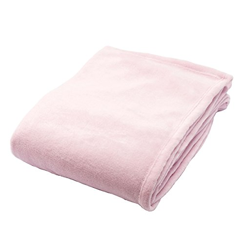 軽くて暖かい マイクロファイバー毛布 (...