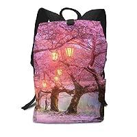 桜の花 ク ビジネスバッグカジュアル バックパック軽量 豪華でかわいい ランドセル 男の子 女のック 大容量 防水仕通学 ック 大人リュック 軽量 旅行