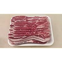 漢拏 ハーブ三元豚 バラ肉 1kg 8mm チルド(冷蔵) カナダ産
