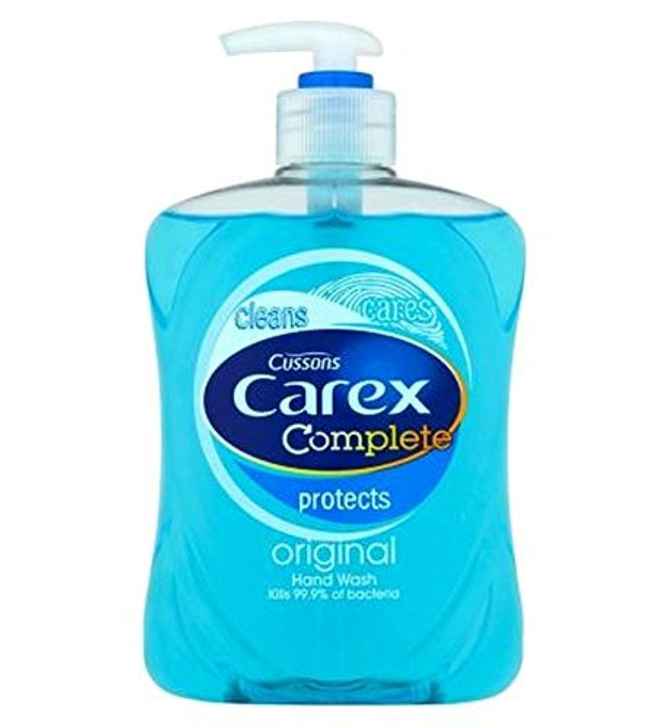 乱雑なペグメーカーCarex Complete Original Hand Wash 500ml - スゲ属の完全オリジナルのハンドウォッシュ500ミリリットル (Carex) [並行輸入品]