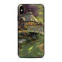 Decalgirl Apple iPhone Xs Max用スキンシール Friendship Cottage