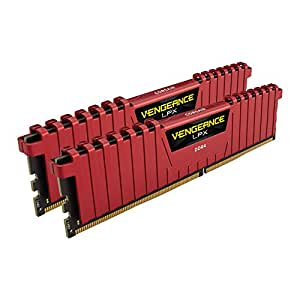 CORSAIR DDR4 デスクトップPC用 メモリモジュール VENGEANCE LPX Series 8GB×2枚キット CMK16GX4M2A2666C16R
