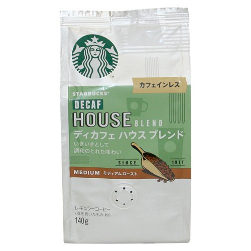 スターバックス「Starbucks(R)」 ディカフェブレンド 中細挽きタイプ(140g)