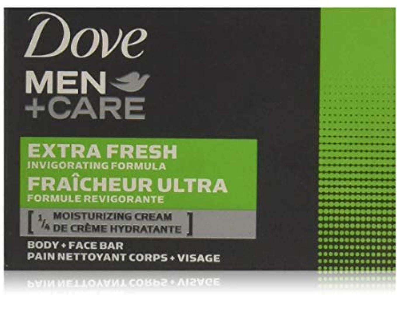 発症カード困惑したDove 男性+ケアボディ&フェイスバー、エクストラフレッシュ4 Eaは(2パック)