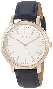 [フィールドワーク]Fieldwork 腕時計 ファッションウォッチ ダニー アナログ 革ベルト ブルー QKS136-3