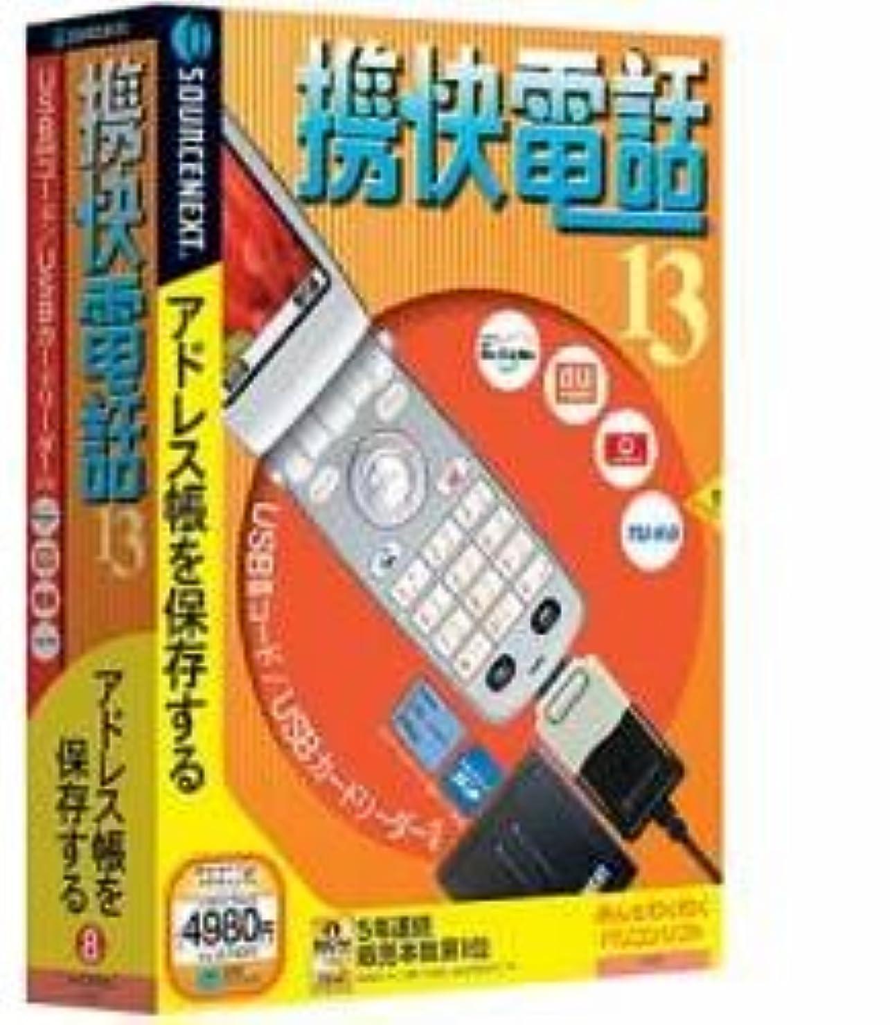 ビリー会計士明るい携快電話 13 USBコード?メモリーカードリーダー付き (説明扉付き厚型スリムパッケージ版)