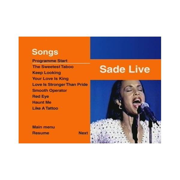 Sade Live [DVD] [Import]の紹介画像4
