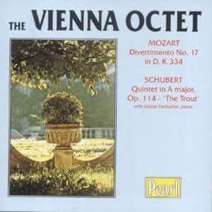 Quintet in a Major / Divertimento 17