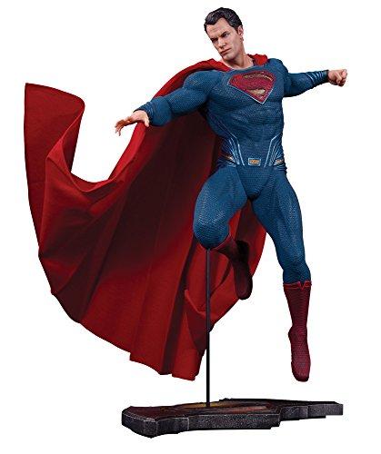 【DC スタチュー】『バットマン vs スーパーマン ジャスティスの誕生』スーパーマン 高さ約35センチ レジン製 塗装済み完成品フィギュア