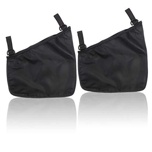 フェリモア ベビーカー用 収納バッグ 側面取り付け 取り付け簡単 ベビーベッド対応 片面メッシュ素材