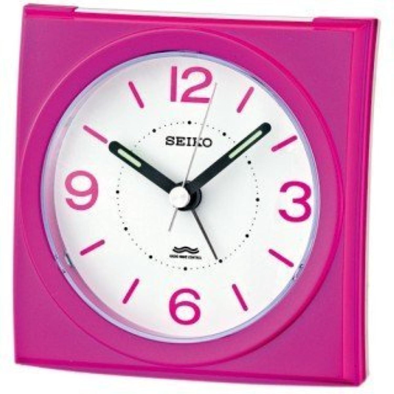 SEIKO CLOCK (セイコークロック) アナログ目覚まし時計 電波時計 KR329P KR329P