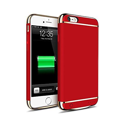 512712b1fc KYOKA iPhone6plus iPhone6s plus バッテリー内蔵ケース 3パーツ式 軽量 超薄 バッテリーケース 大