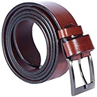 Women Ladies Leather Belt – Genuine Quality Vegetable Tanned Leather - Crafted in Europe – Many Colours and Lengths - 1.57inch / 4cm Wide