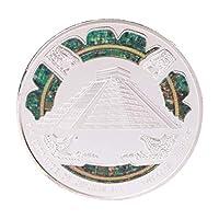 Baoyouls 古代マヤのピラミッド記念コインコレクションギフトお土産アートメタルアンティーク