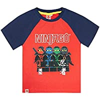 Official Lego Ninjago Characters Boys T-Shirt