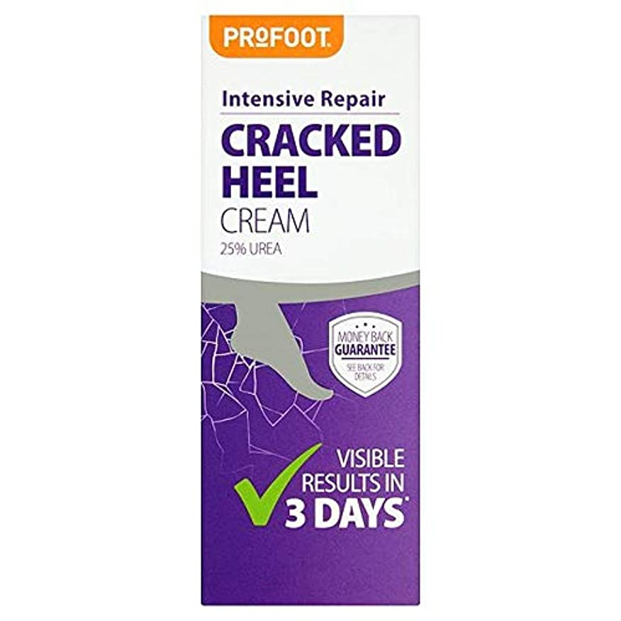 爬虫類交通リビングルーム[Profoot] Profootひび割れかかとクリーム60ミリリットル - Profoot Cracked Heel Cream 60Ml [並行輸入品]