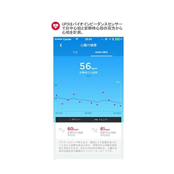 【日本正規代理店品】Jawbone UP3 ワ...の紹介画像3