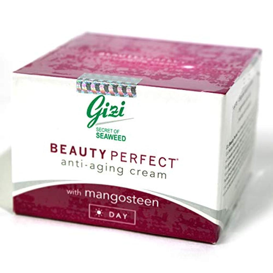 ピストル憂鬱分析的なギジ gizi Beauty Perfect マンゴスチンエキス配合 日中用フェイシャルケアクリーム 27g [海外直送品]