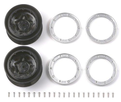 ホップアップオプションズ No.1116 CR-01 ペンタグラムホイール(オフセット+5)2本 54116