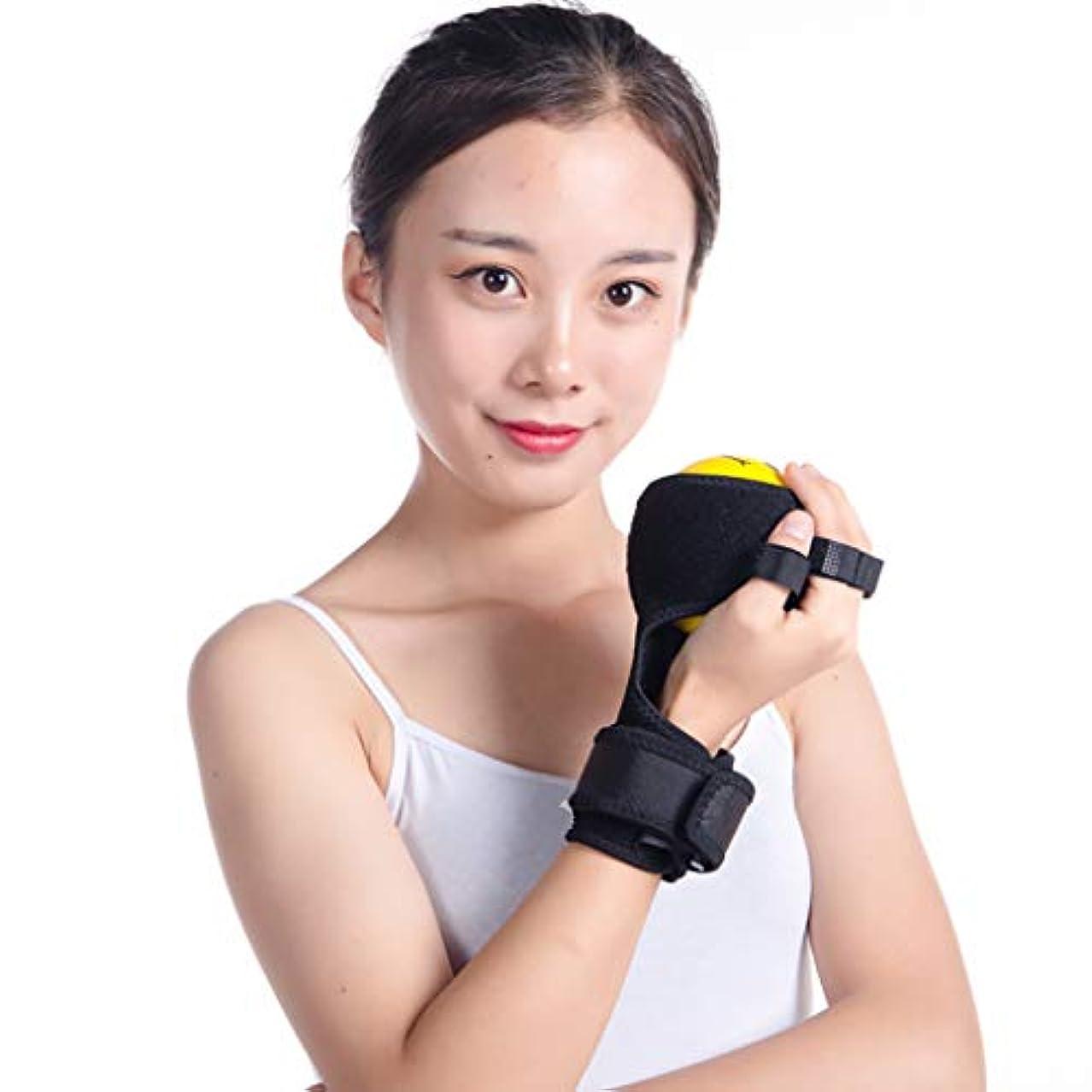 指装具ハンドボールリハビリテーション運動、痙縮防止ボールスプリントハンド機能障害