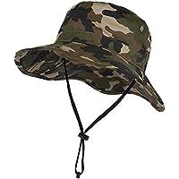 VBIGER ブーニーハット 釣り 帽子 サファリハット メンズ レディース 登山 アウトドア フィッシング 迷彩 ジャングル