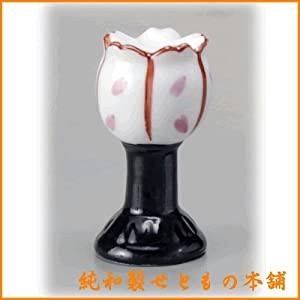 陶製 ぼんぼり(H4.2cm) 雛人形 お雛様 節句 置物 かわいい 卓上 陶器 せともの