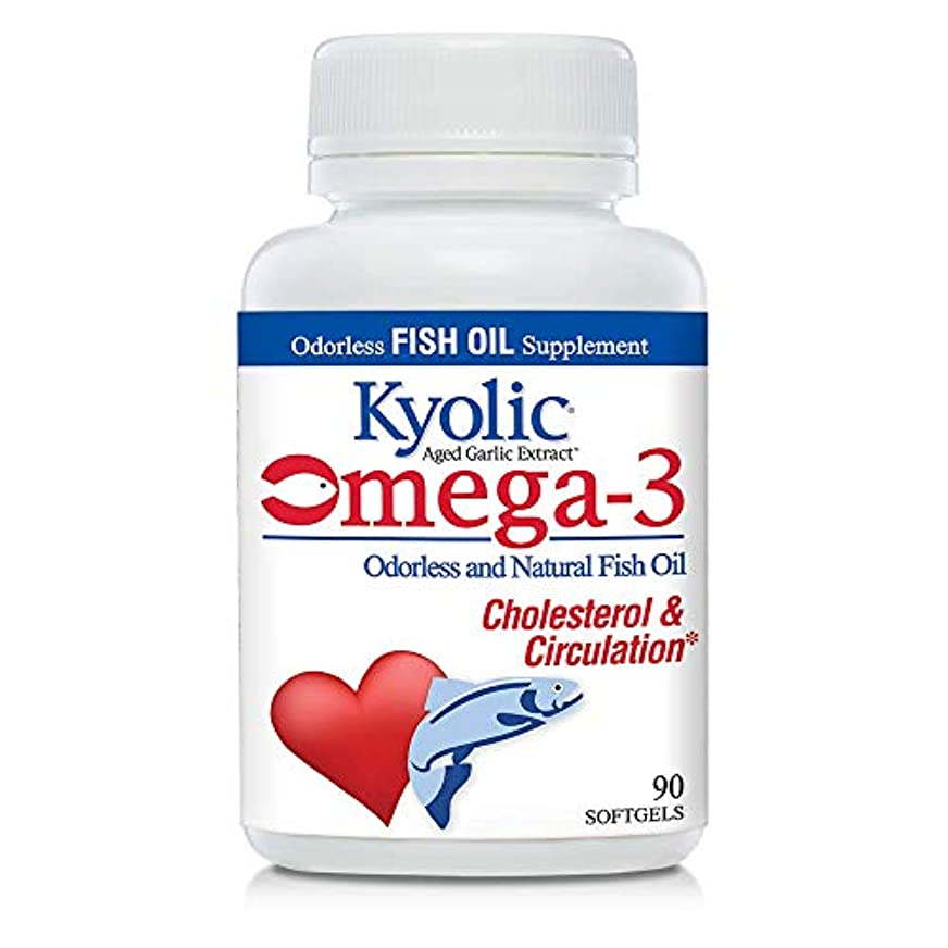 サスペンドテクスチャーコレクションWakunaga - Kyolic, EPA, Aged Garlic Extract, Cardiovascular, 90 Softgels