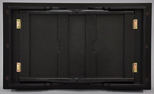 エイ・アイ・エス(AIS) 供物台 棚付き 幅60cm ダークブラウン VKD-6035TA