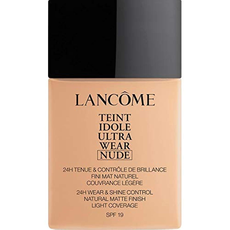 フロンティア予備豊富[Lanc?me ] ランコムTeintのIdole超摩耗ヌード財団Spf19の40ミリリットル021 - ベージュジャスミン - Lancome Teint Idole Ultra Wear Nude Foundation...