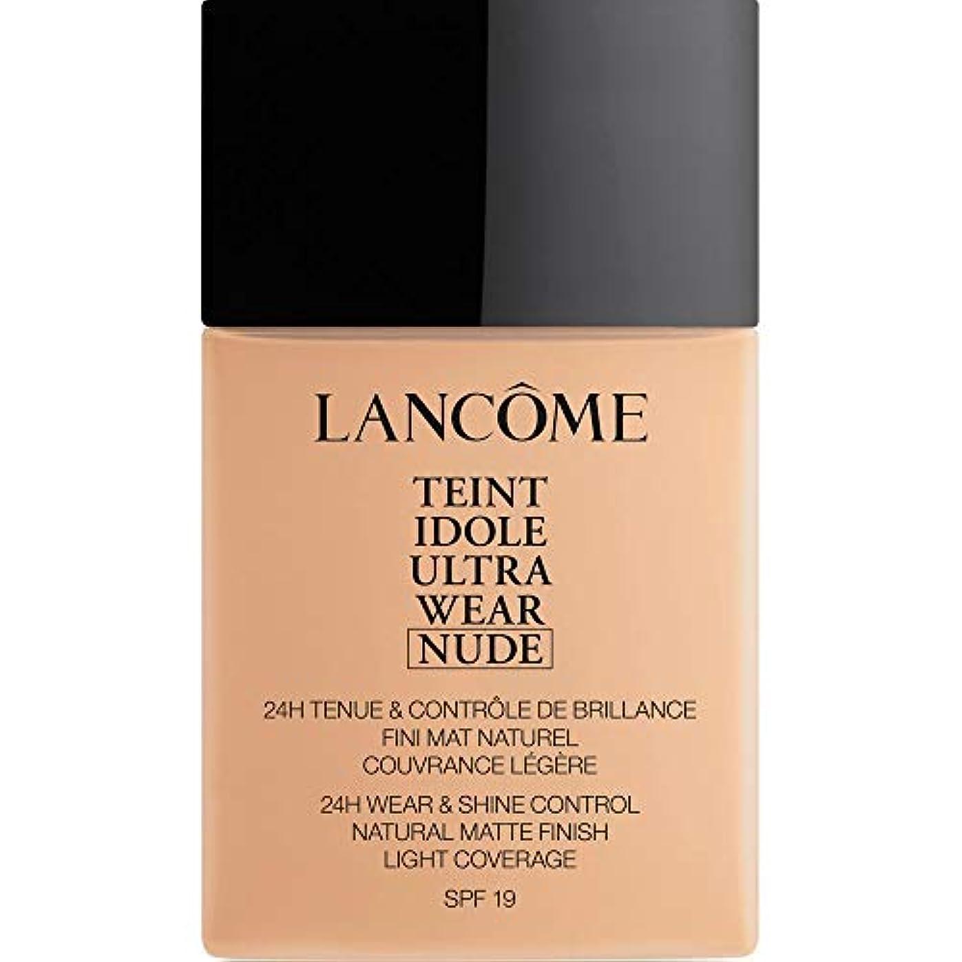 [Lanc?me ] ランコムTeintのIdole超摩耗ヌード財団Spf19の40ミリリットル021 - ベージュジャスミン - Lancome Teint Idole Ultra Wear Nude Foundation...