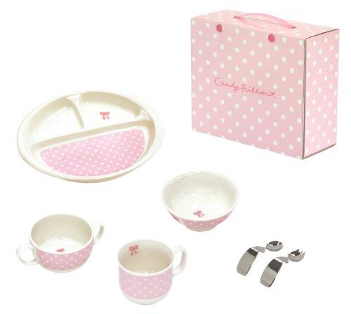 キャンディリボン Candy ribbon はじめての食器6点セット 511905 日本製