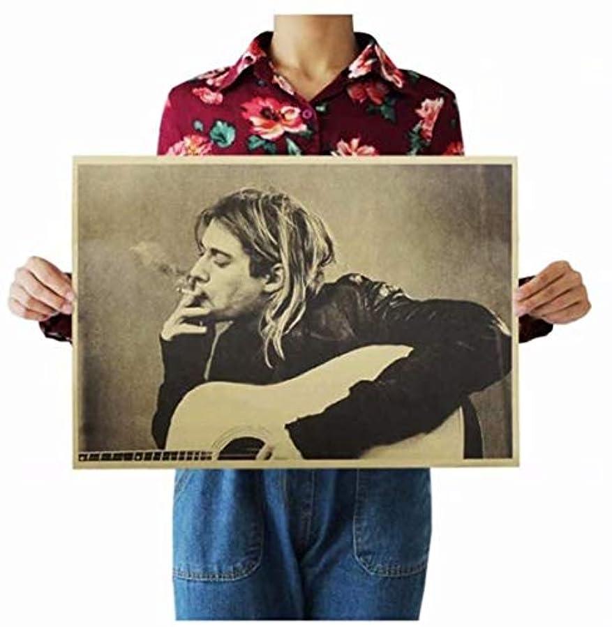 リネン誤病七里の香 プロフェッショナル クラシック映画のクラフト紙のポスターバールーム装飾