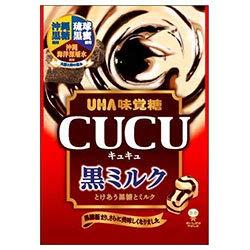 UHA味覚糖 CUCU(キュキュ) 黒ミルク 85g×6袋入×(2ケース)
