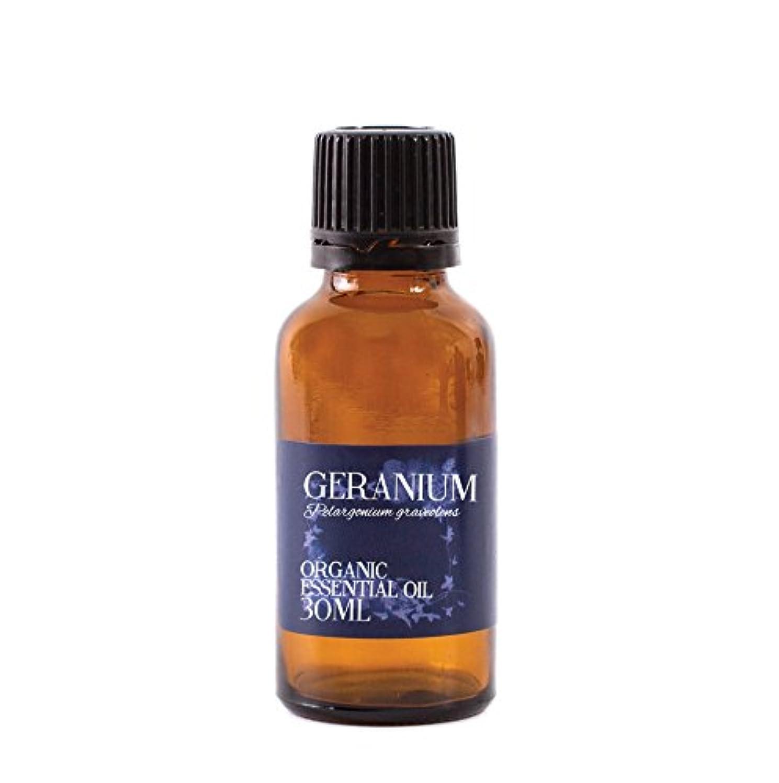 退屈ガチョウウェーハMystic Moments | Geranium Organic Essential Oil - 30ml - 100% Pure