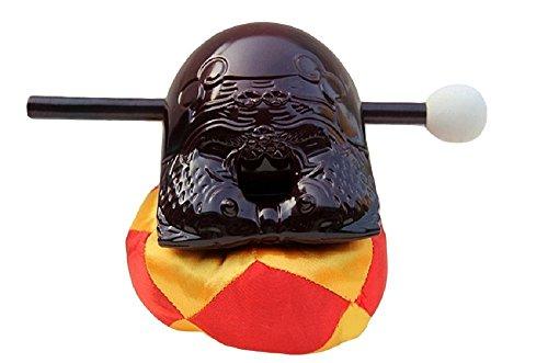 ポクポク木魚(もくぎょ)木魚 布団 バチ 3点セット