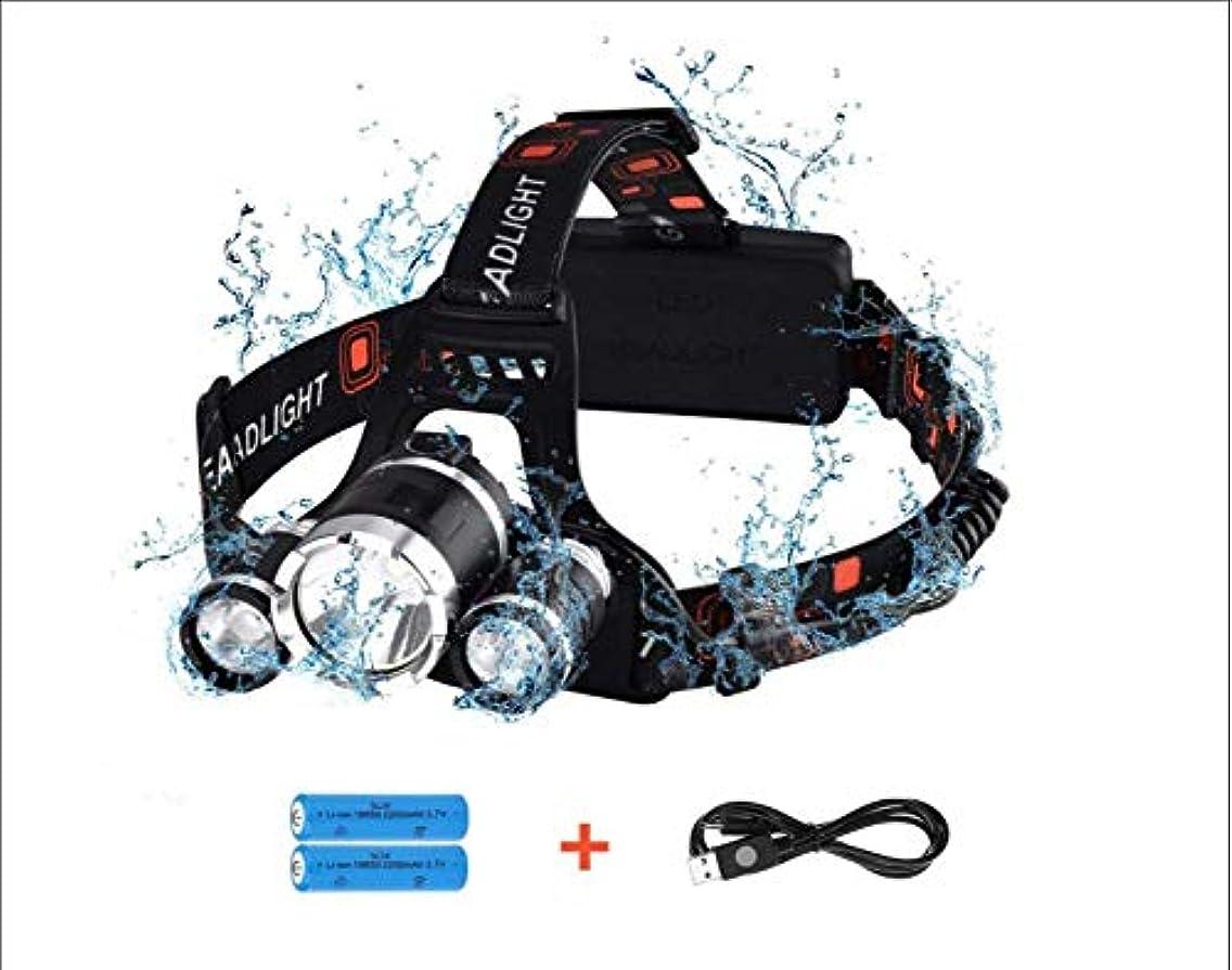 どう?限定ノーブルViugreum LEDヘッドライト 充電式 ヘッドランプ 高輝度 長寿命 防水 軽量 安全性 アウトドア/キャンプ/登山/夜釣り/夜間作業/日常携帯/徒歩
