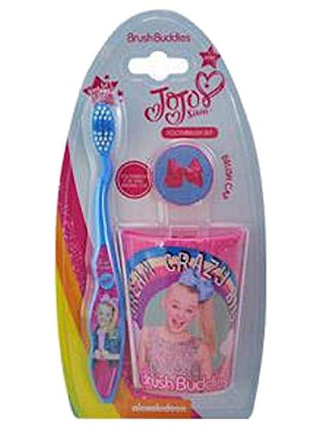 エコー謝る名義で4SGM JoJo ピンク 歯ブラシセット マルチ