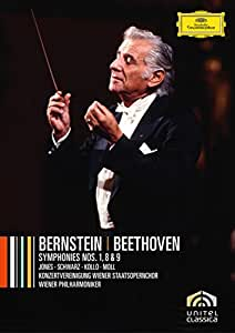 ベートーヴェン:交響曲 第1番・第8番・第9番 [DVD]