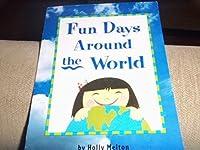 Fun Days Around/World, Advanced Level Grade 2: Harcourt School Publishers Trophies (Trophies 03)
