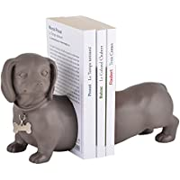 Book Ends TeckelブラウンLa Chaise Longue