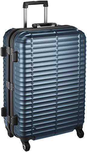 4d37f90c68 [プロテカ] スーツケース 日本製 ストラタム サイレントキャスター 保証付 64L 61 cm 4.5kg ブルーグレー  合金フレームと水平リブがボディ強度を高めている「Stratum/ ...