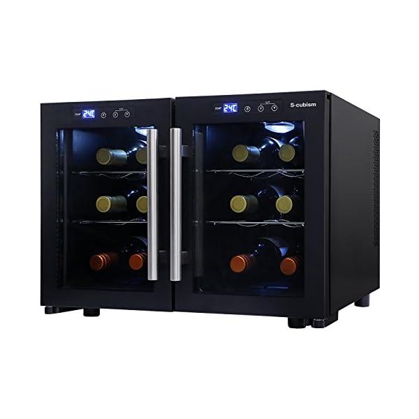 エスキュービズム デュアルワインクーラー ワイン...の商品画像