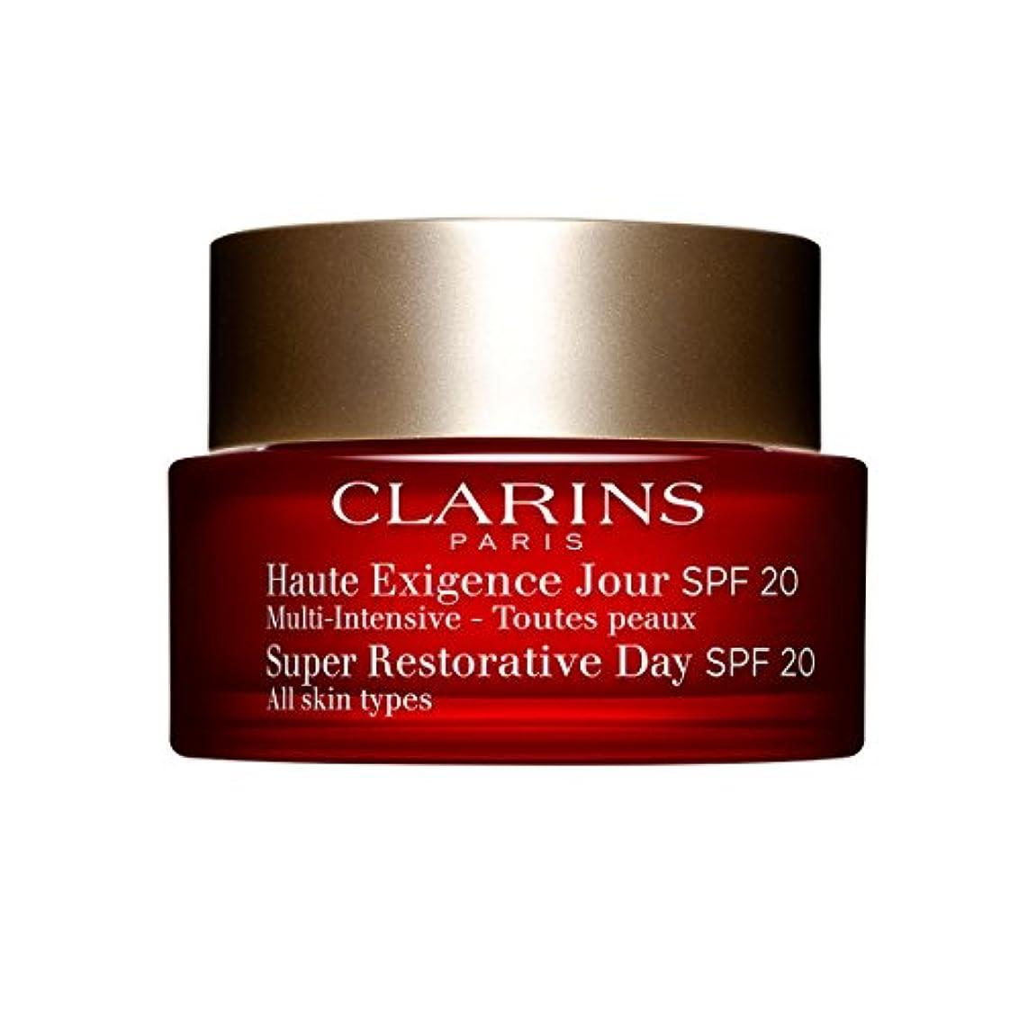 スクワイア切り刻む経由でClarins Super Restorative Day Spf20 50ml [並行輸入品]