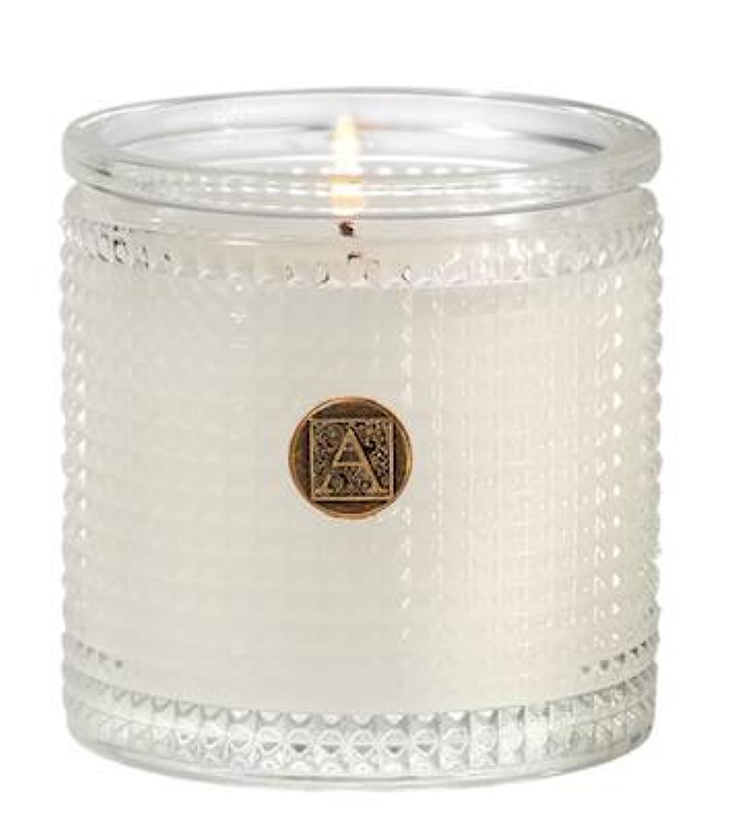 ゲージルート衝動Aromatique BourbonベルガモットTexturedガラス香りつきJar Candle