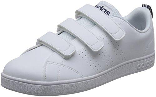 アディダス adidas(アディダス)シューズ カジュアル VALCLEAN2 CMF BTZ19 AW5211 ランニングホワイト/ランニングホワイト/カレッジネイビー
