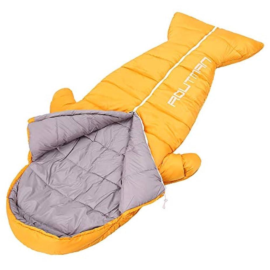 常習者真向こう同化する寝袋冬用夏用人魚型破りな形状素敵な寝袋こども手足解放足元を開けかわいい 便利な自由に動 キャンプ 防水大人用 220x80cm
