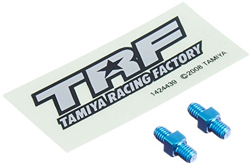 TRFパーツ 42116 TRF 3×10mm ブルーチタンターンバックルシャフト