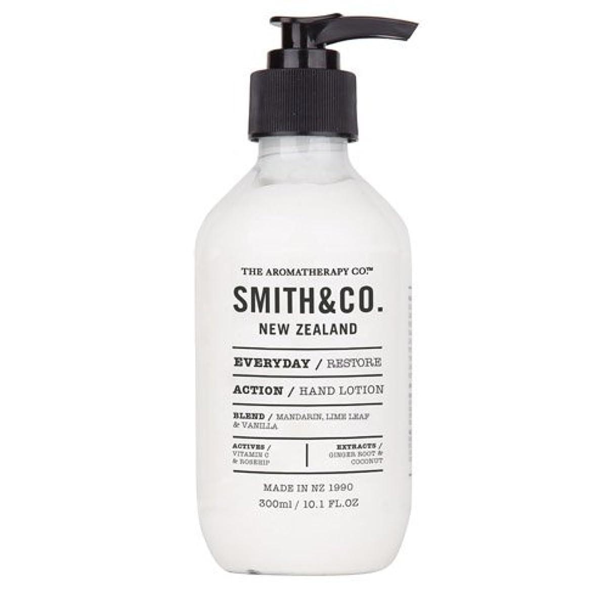 レキシコン涙が出る上昇Smith&Co. スミスアンドコー Hand&Body Lotion ハンド&ボディローション Restore リストア
