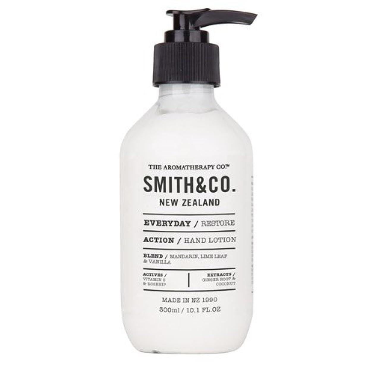 補体クリープ複雑なSmith&Co. スミスアンドコー Hand&Body Lotion ハンド&ボディローション Restore リストア